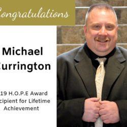Currington wins 2019 H.O.P.E Award for Lifetime Achievement