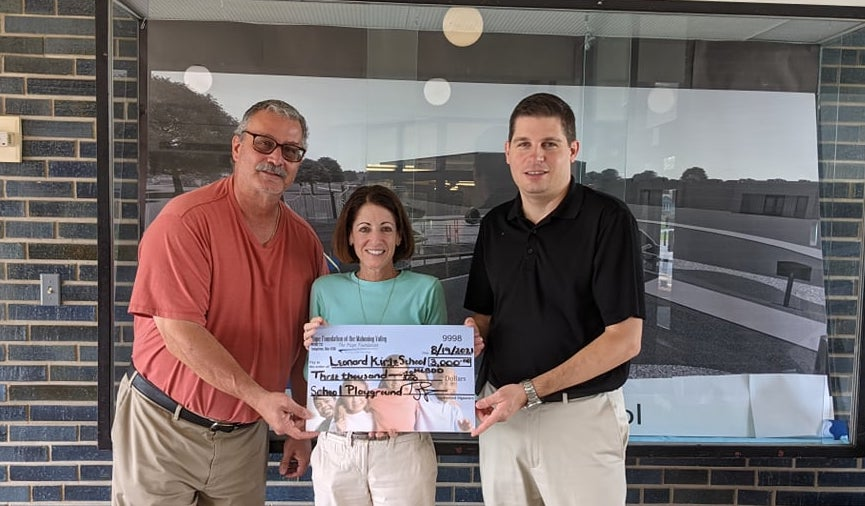 Making a Difference in Children's Lives-The Foundation makes donation to help the Leonard Kirtz School